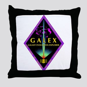 GALEX Program Logo Throw Pillow