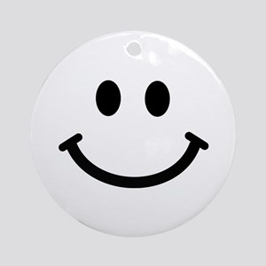 Smiley face Ornament (Round)