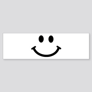 Smiley face Bumper Sticker