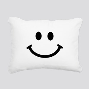 Smiley face Rectangular Canvas Pillow