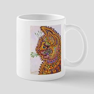 Louis Wain Vintahe Wallpaper Cat Mug