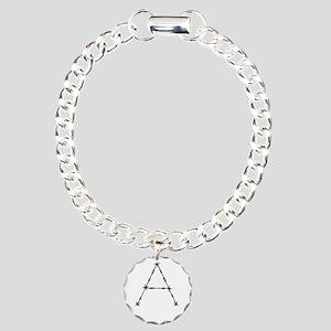 Barbed Wire Monogram A Bracelet