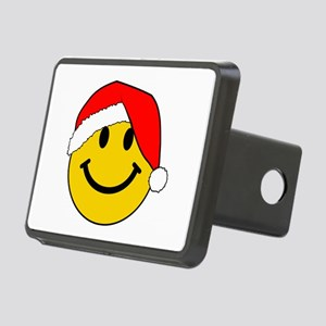 Christmas Santa Smiley Hitch Cover