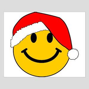 Christmas Santa Smiley Posters