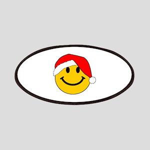 Christmas Santa Smiley Patches
