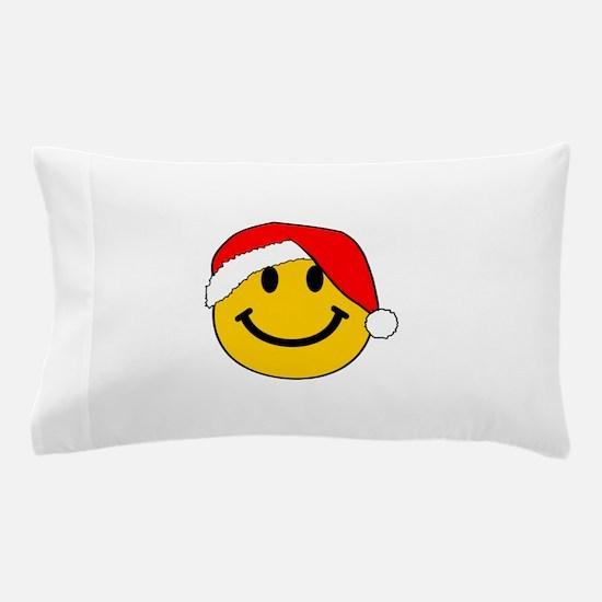 Christmas Santa Smiley Pillow Case