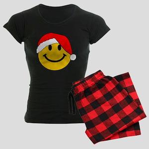Christmas Santa Smiley Pajamas