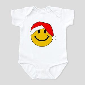 Christmas Santa Smiley Body Suit