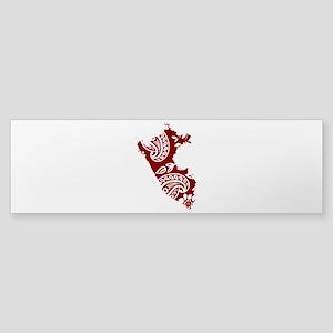 Paisley Sticker (Bumper)