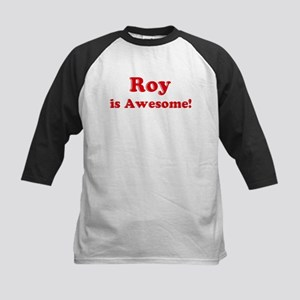Roy is Awesome Kids Baseball Jersey