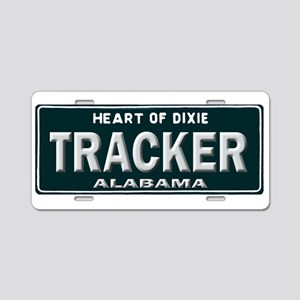 Alabama Tracker Aluminum License Plate