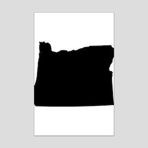 Black Mini Poster Print
