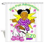 Ezo Fun Adventures Shower Curtain
