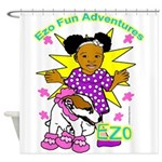Ezo Fun Adventures Shower Curtain