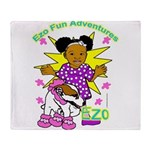 Ezo Fun Adventures Throw Blanket