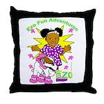 Ezo Fun Adventures Throw Pillow