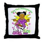 Ezo Fun Adventures Throw Pillow