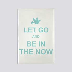 Let go spiritual quote Rectangle Magnet