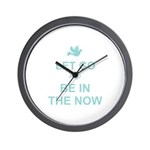 Let go spiritual quote Wall Clock