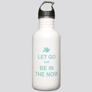 Let go spiritual quote Water Bottle