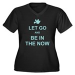 Let go spiritual quote Plus Size T-Shirt