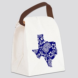 Paisley Canvas Lunch Bag