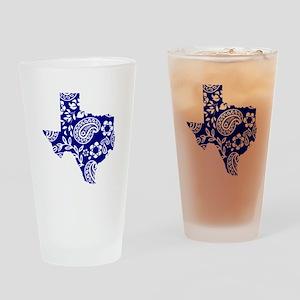 Paisley Drinking Glass