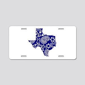 Paisley Aluminum License Plate