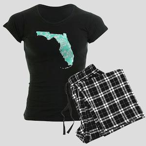 Paisley Women's Dark Pajamas