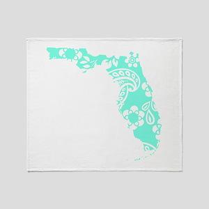 Paisley Throw Blanket
