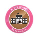 """Occupy Schools 3.5"""" Button (100 pack)"""