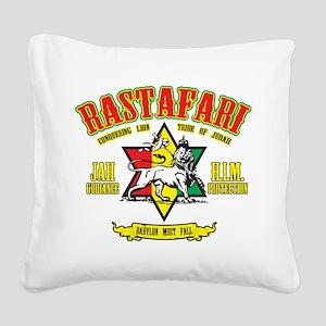 Rastafari Square Canvas Pillow