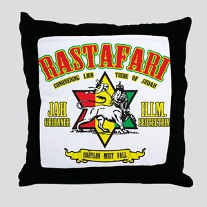 Rastafari Throw Pillow