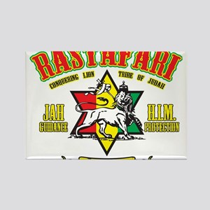 Rastafari Rectangle Magnet