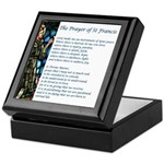 The St Francis Prayer Keepsake Box