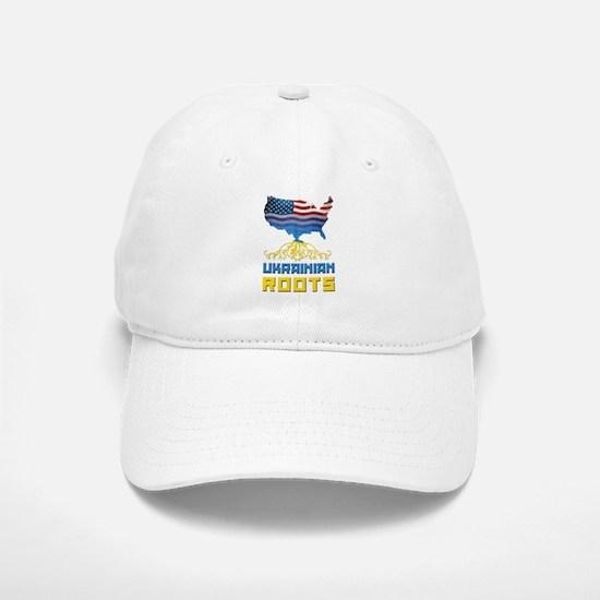 American Ukrainian Roots Baseball Baseball Baseball Cap
