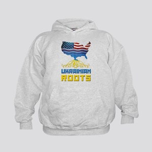 American Ukrainian Roots Hoodie