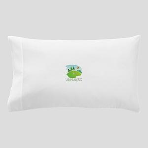 The Golf Course Pillow Case