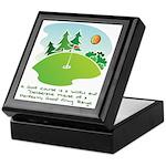 The Golf Course Keepsake Box
