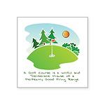 The Golf Course Sticker