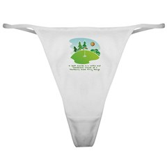 The Golf Course Classic Thong
