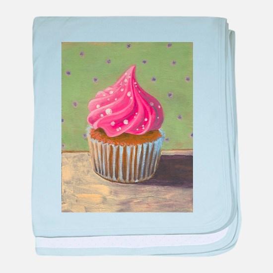 Russian Pink Cupcake - baby blanket