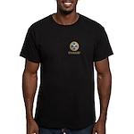 Opus Bono Icon Men's Fitted T-Shirt (dark)