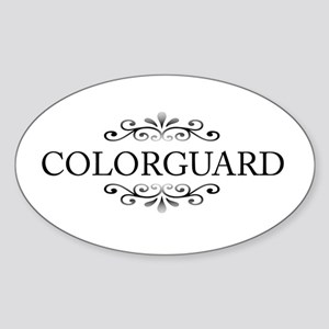 Colorguard Oval Sticker