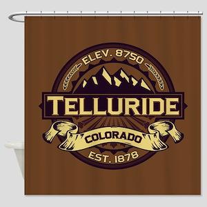 Telluride Sepia Shower Curtain