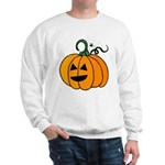 Jack o'Lantern Cutie 2 Sided Sweatshirt