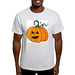 Jack o'Lantern Cutie 2 Sided Ash Grey T-Shirt