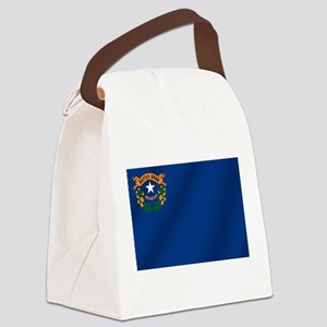 Nevada State Flag Canvas Lunch Bag