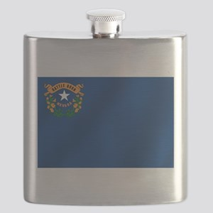 Nevada State Flag Flask