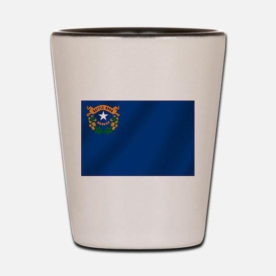 Nevada State Flag Shot Glass